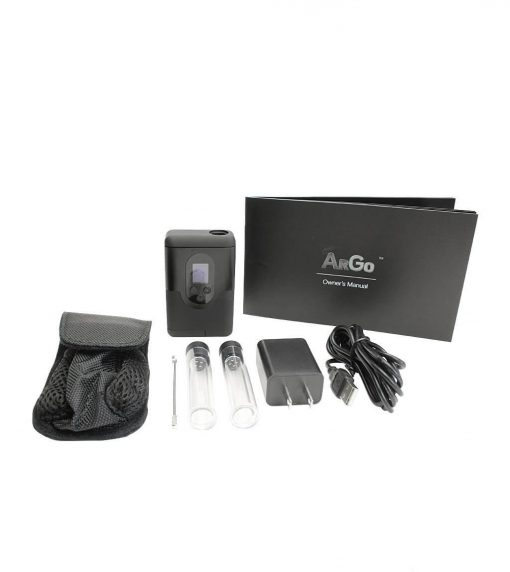 The Arizer ArGo comes with everything needed to start vaping