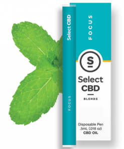 Select CBD - Focus - Spearmint - .5 ml - Disposable Vaporizer Image
